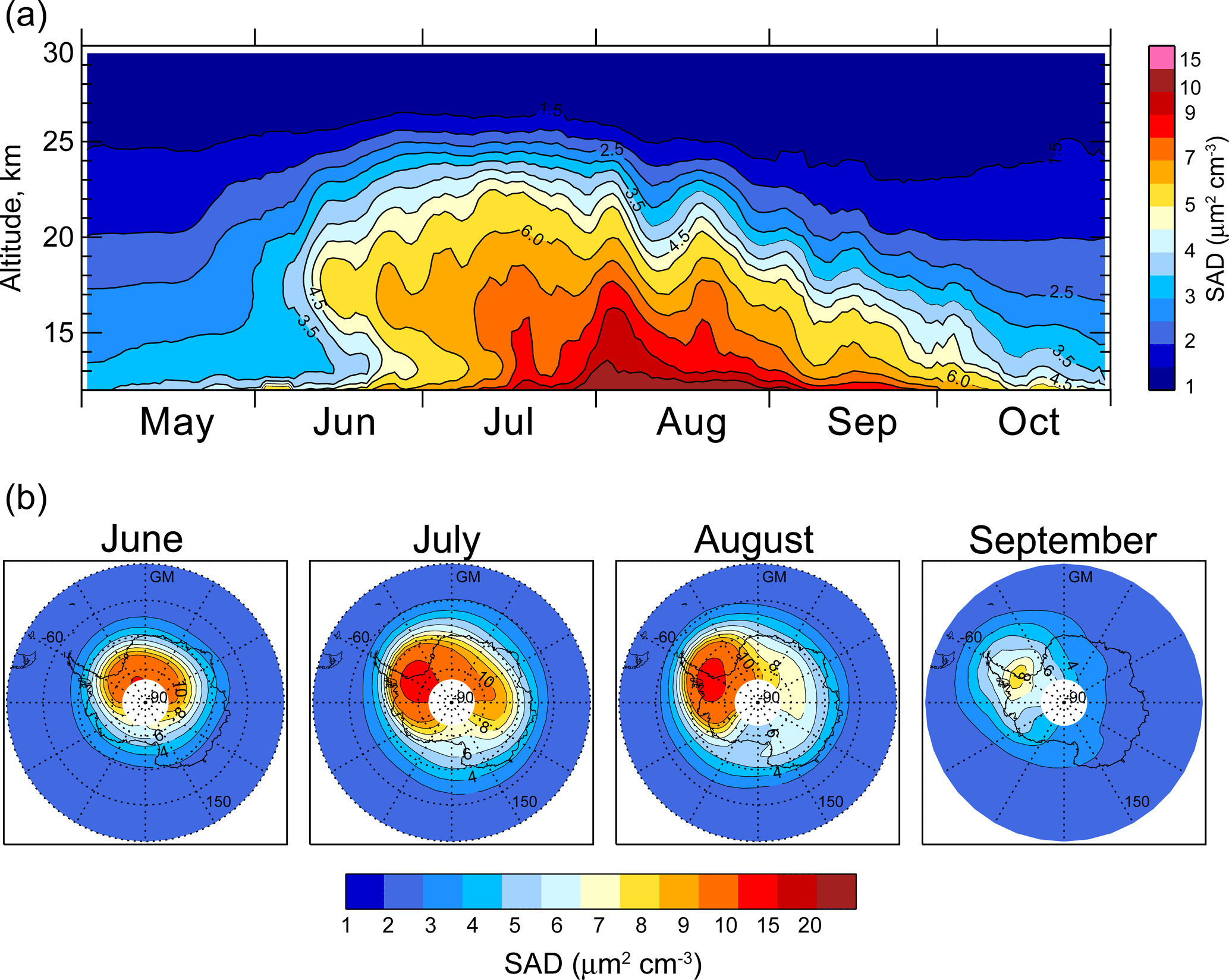 ACP - Polar stratospheric cloud climatology based on CALIPSO