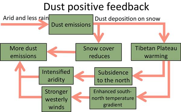 ACP - Radiative feedbacks of dust in snow over eastern ...