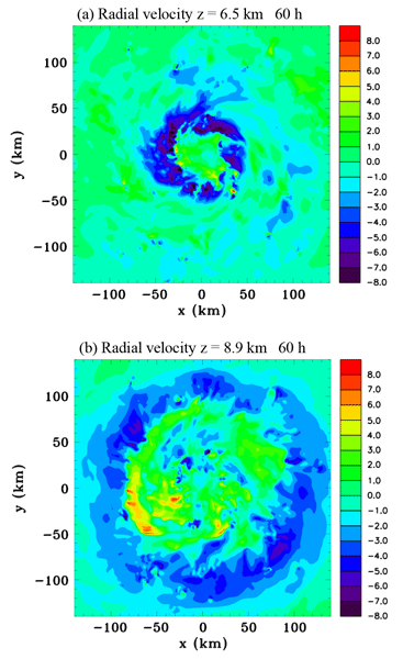 A Numerical Modelling Investigation Of The Role Diabatic Heating And Cooling In Development Mid Level Vortex Prior To Tropical Cyclogenesis