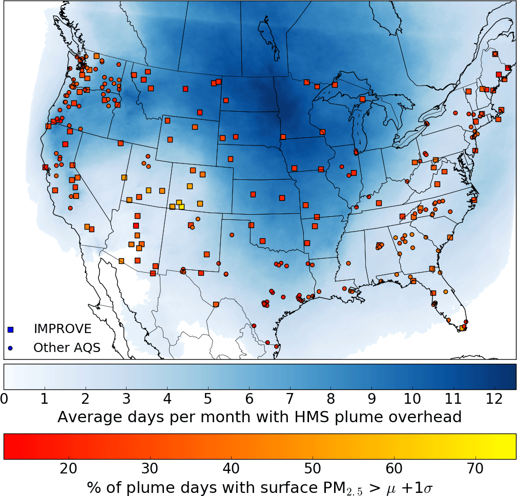 ACP - Connecting smoke plumes to sources using Hazard