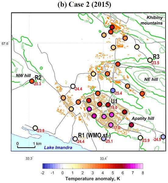 ACP - Relations - Online coupled regional meteorology