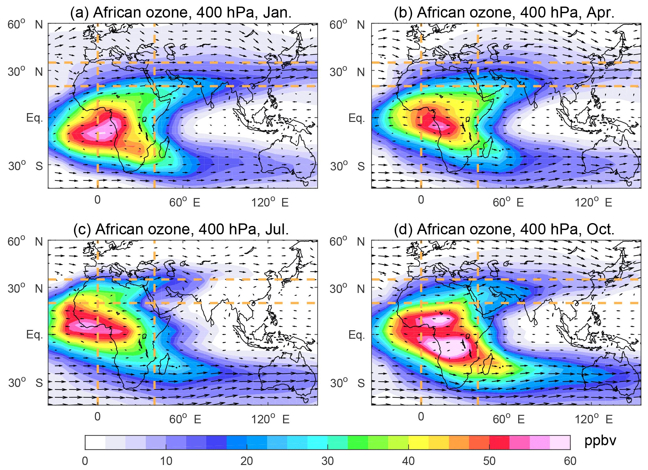 ACP - Characteristics of intercontinental transport of tropospheric