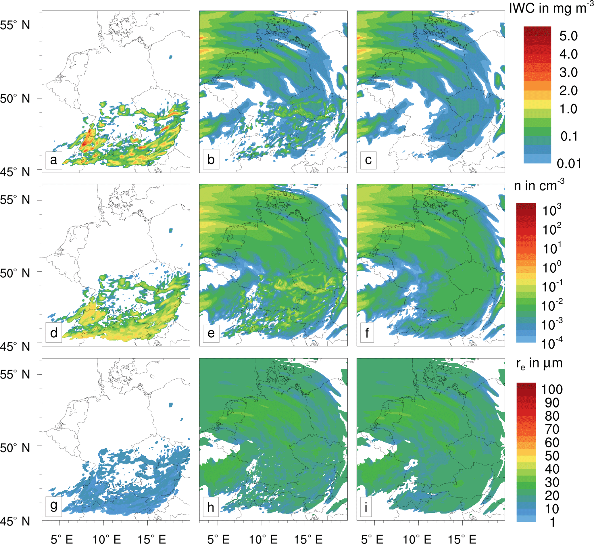 ACP - Contrails and their impact on shortwave radiation and ...