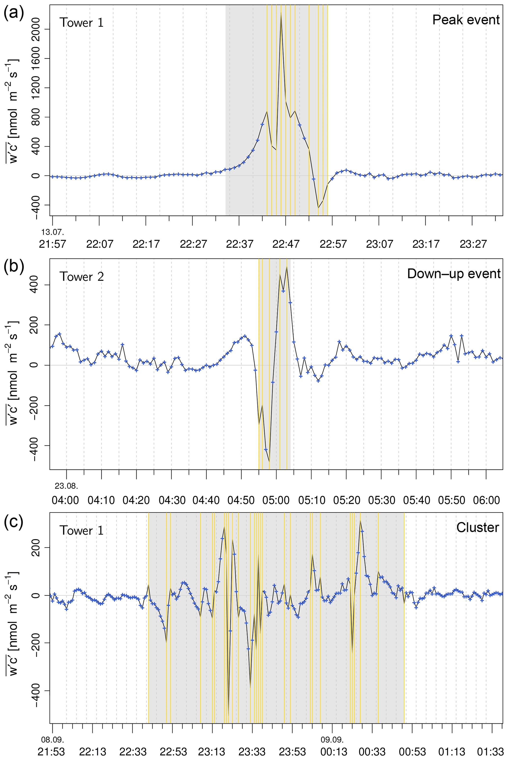 ACP - Characterisation of short-term extreme methane fluxes