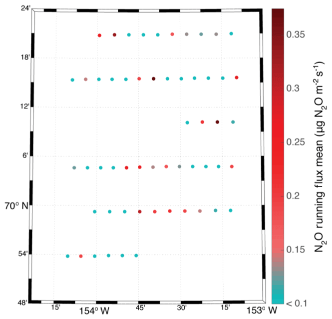 ACP - Permafrost nitrous oxide emissions observed on a