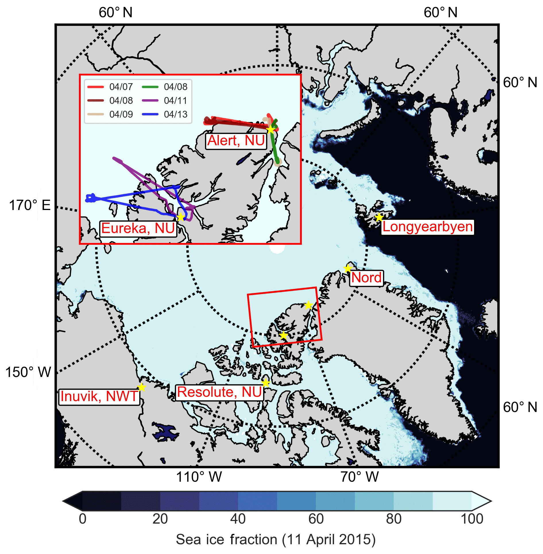 ACP - Aircraft-based measurements of High Arctic springtime