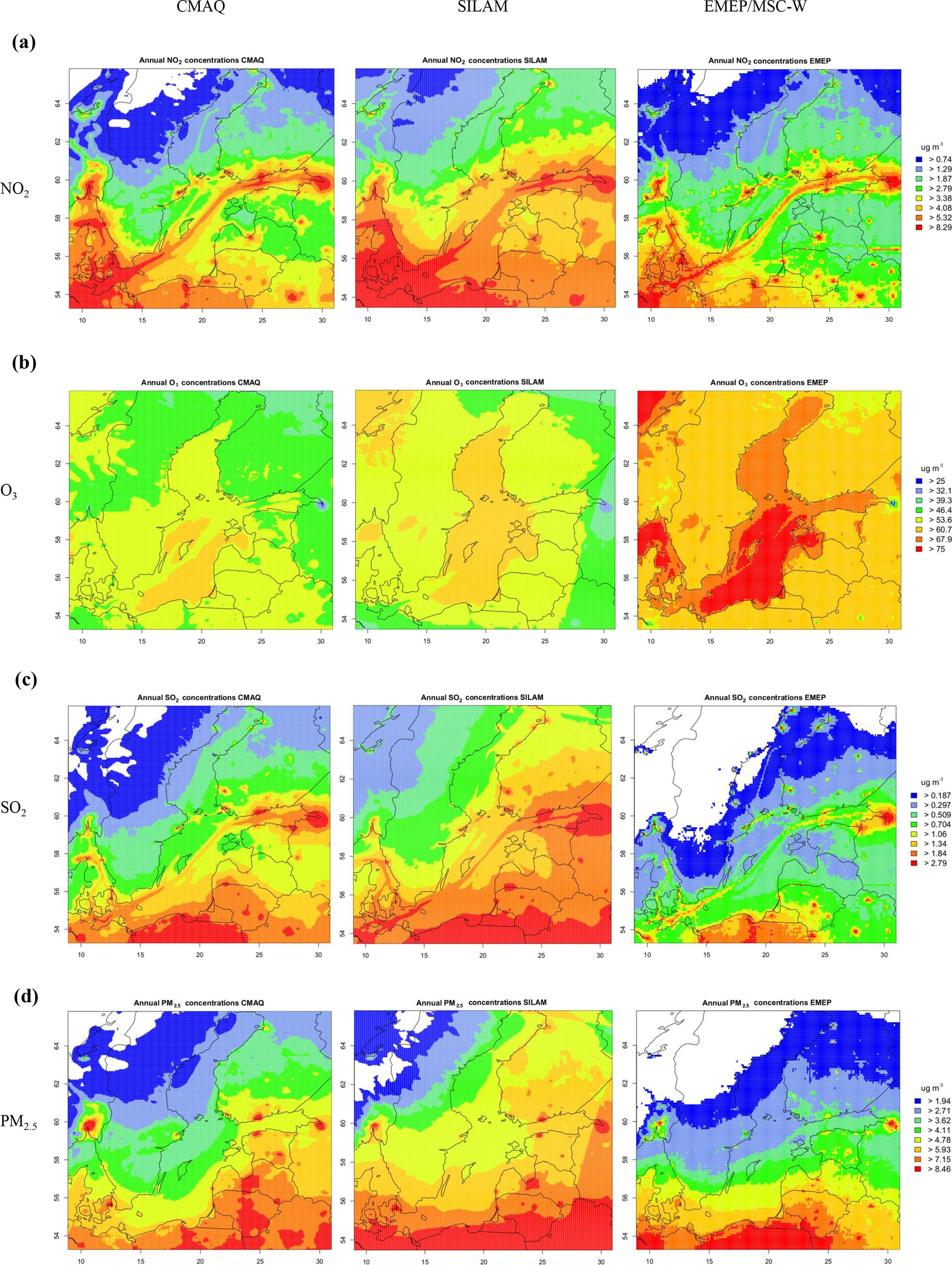 ACP - Effects of ship emissions on air quality in the Baltic