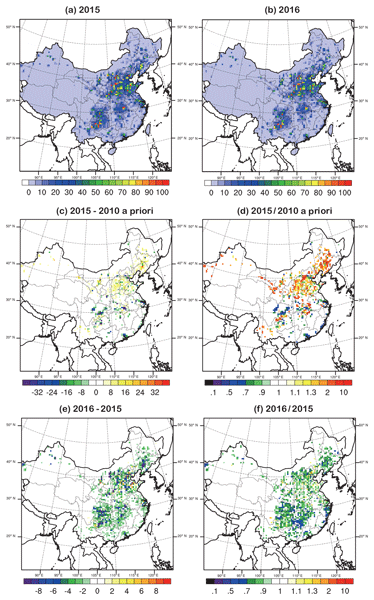 ACP - Relations - A revised global ozone dry deposition estimate