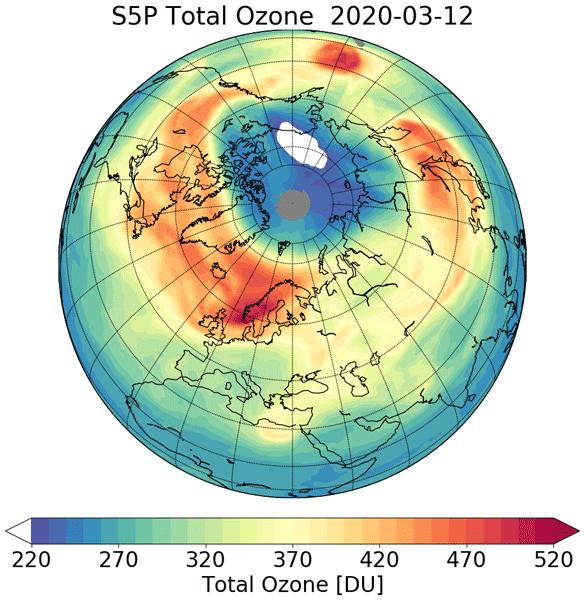 ozono artico